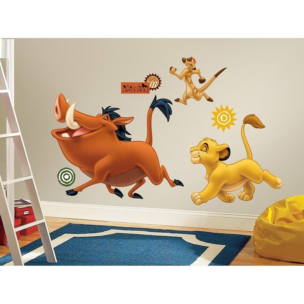 Newest Zspmed Of Lion King Wall Decals With Lion King Wall Art (View 14 of 20)