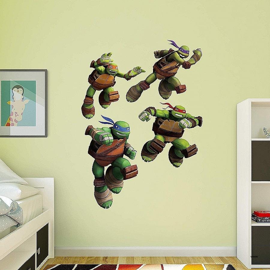 Ninja Turtle Wall Art With Preferred Fantastic Ninja Turtle Wall Decor Collection Art & Wall Decor (View 13 of 20)