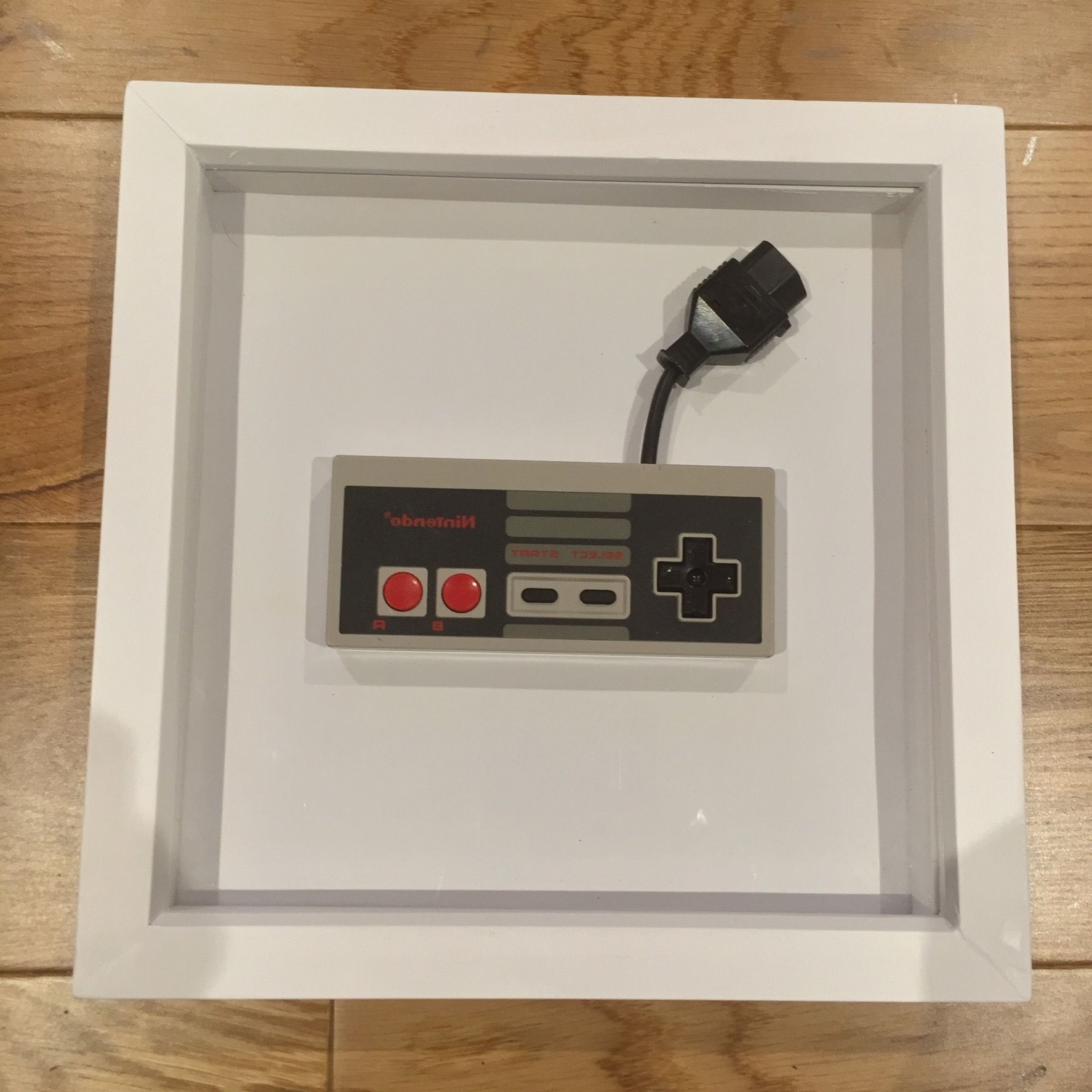 Nintendo Nes Controller Frame (Cool Retro Wall Art) – Gift For Guys In Popular Nintendo Wall Art (View 10 of 20)