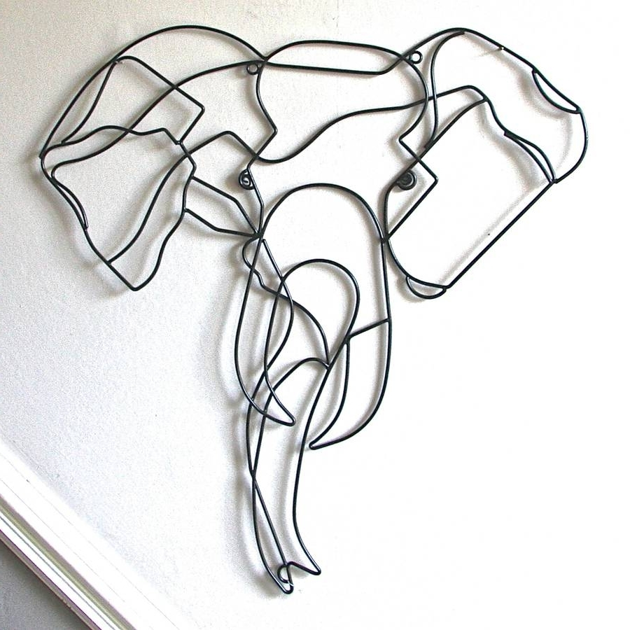 Featured Photo of Wire Wall Art