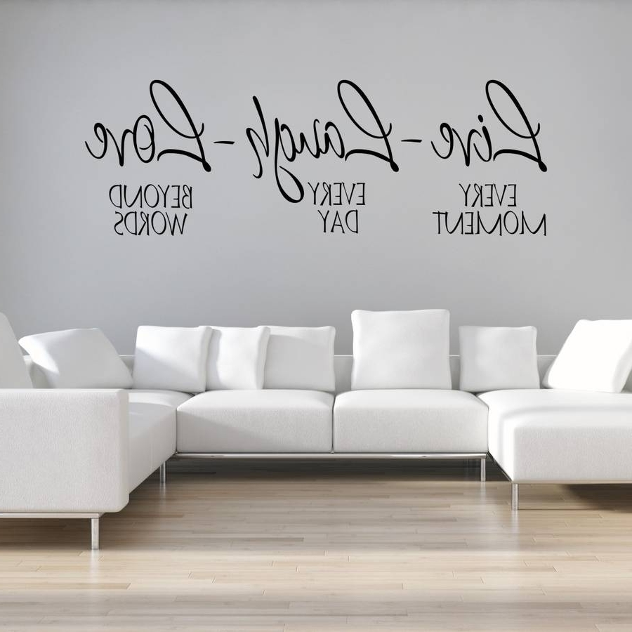 Notonthehighstreet With Regard To Most Up To Date Live Laugh Love Wall Art (View 11 of 20)