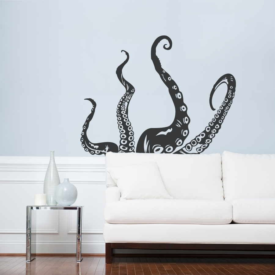 Octopus Wall Art (Gallery 2 of 20)