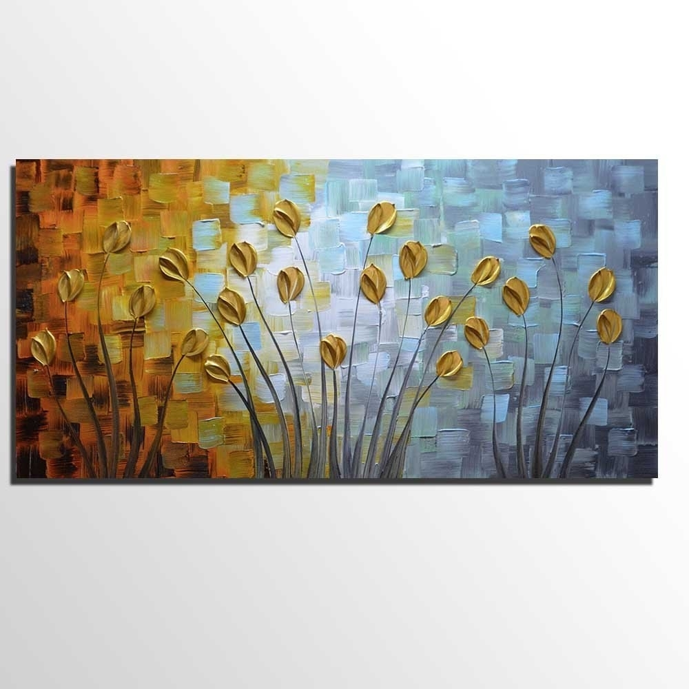 [%Oil Paintings On Canvas Budding Flowers Artwork 100% Hand Painted With Newest Floral Wall Art|Floral Wall Art Inside Recent Oil Paintings On Canvas Budding Flowers Artwork 100% Hand Painted|Most Recently Released Floral Wall Art Pertaining To Oil Paintings On Canvas Budding Flowers Artwork 100% Hand Painted|Fashionable Oil Paintings On Canvas Budding Flowers Artwork 100% Hand Painted Throughout Floral Wall Art%] (View 2 of 20)