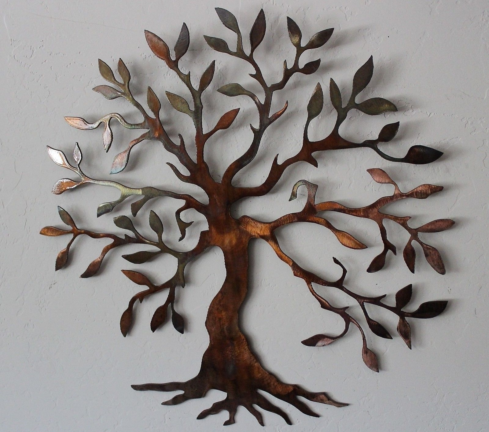 Olive Tree –Tree Of Life Metal Wall Art Decor – $ (View 15 of 20)