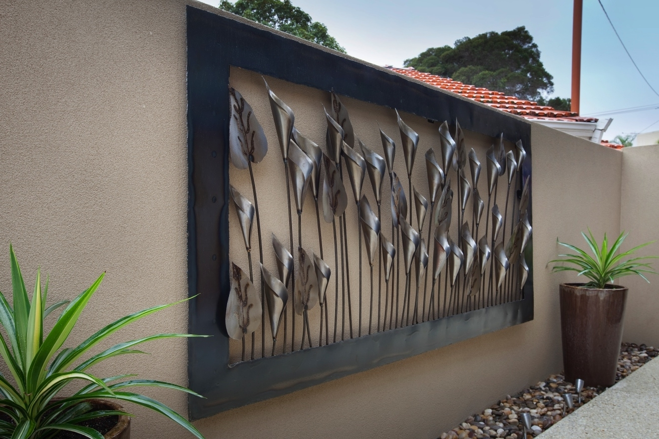 Outdoor Wall Art Decors Within Well Known Metal Wall Art Outdoor Perth – Outdoor Designs (View 5 of 20)
