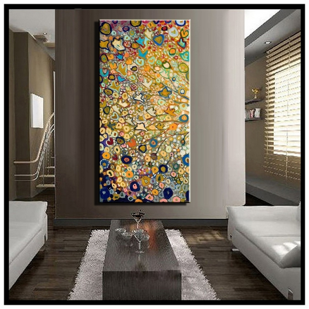 Oversized Vertical Wall Art – Culturehoop Within Well Liked Vertical Wall Art (View 11 of 20)