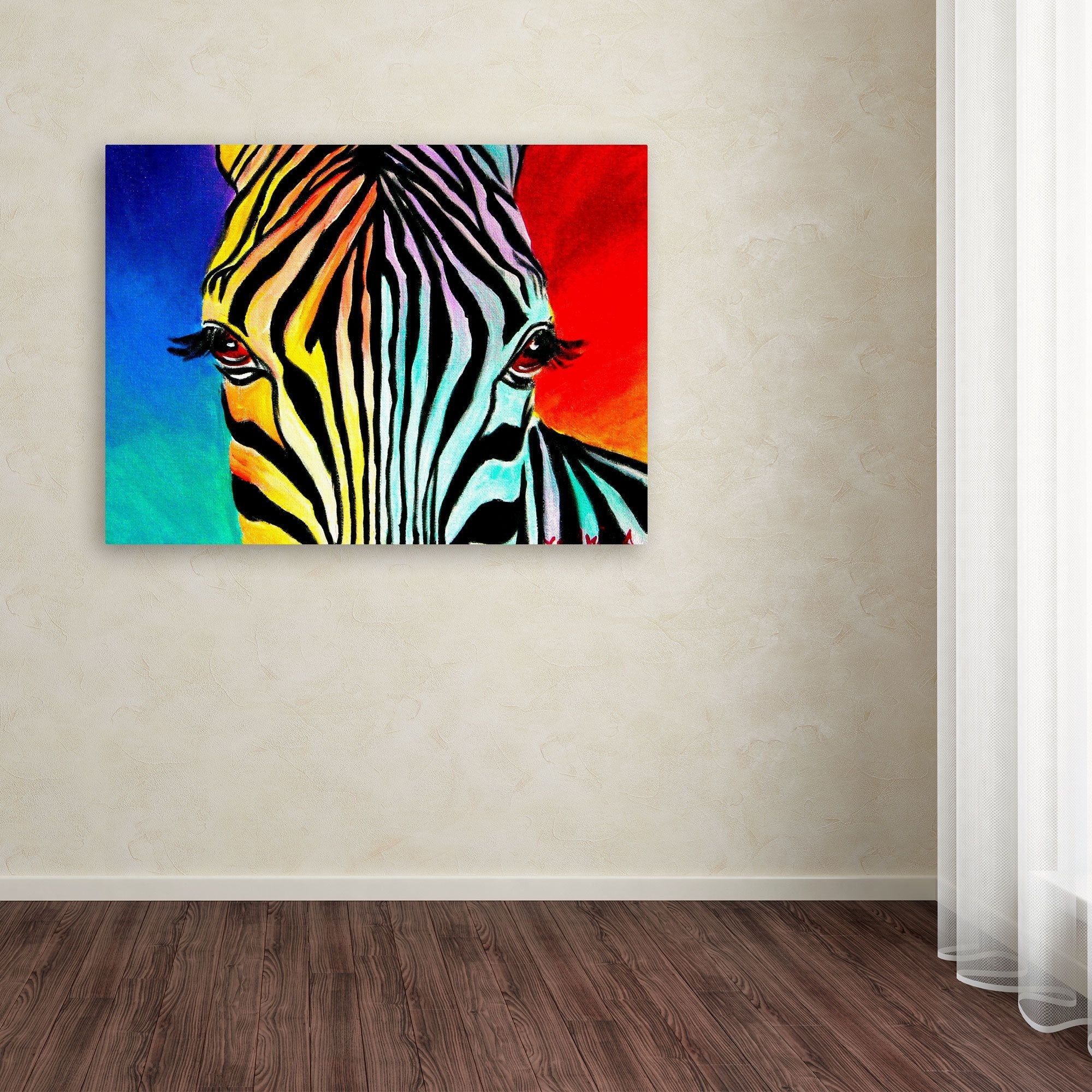 Overstock Wall Art For Recent Dawgart Zebra Canvas Art Inspiration Of Overstock Wall Art (View 11 of 20)