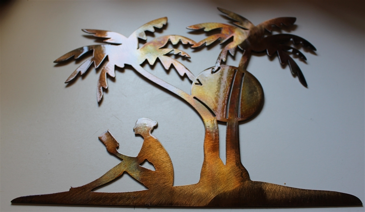 Palm Tree Metal Wall Art Regarding Most Recently Released Palm Tree Wall Art (View 11 of 20)