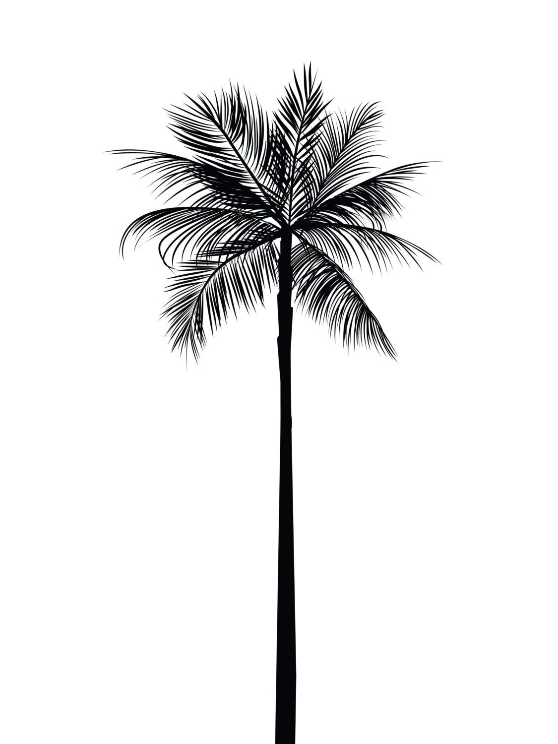 Palm Tree Print, Palm Leaves Print, Palm Tree Art, Palm Tree Wall Regarding Current Palm Tree Wall Art (View 12 of 20)