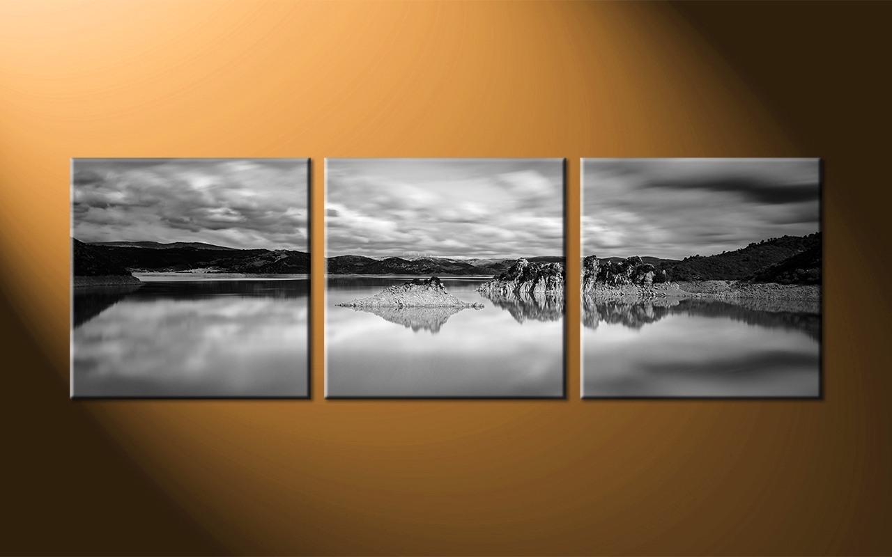 Panoramic Wall Art With Most Recent Ocean Black Panoramic Wall Art : Andrews Living Arts – Masculine (Gallery 4 of 15)