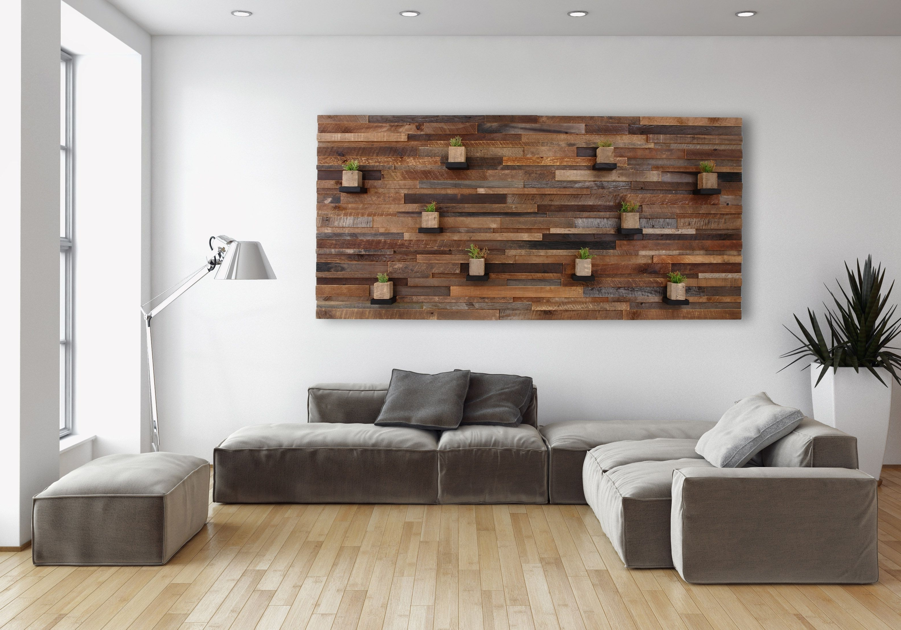 Personalized Wood Wall Art Within Preferred Hand Made Wood Wall Art With Floating Wood Shelves 84 (Gallery 12 of 20)