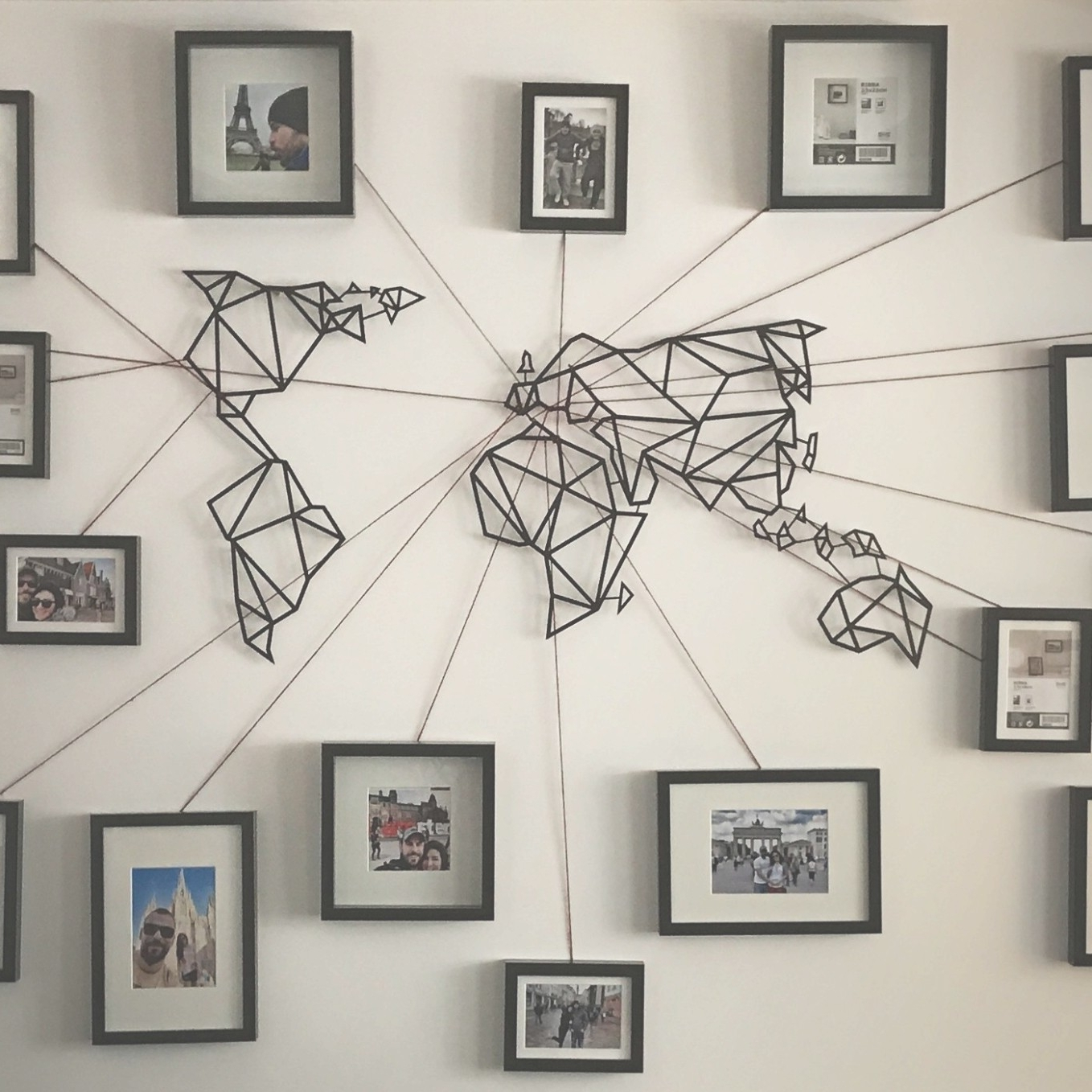Photo Gallery Of Wall Art Map World Viewing 11 45 Photos And Metal Within Recent Wall Art World Map (View 13 of 20)