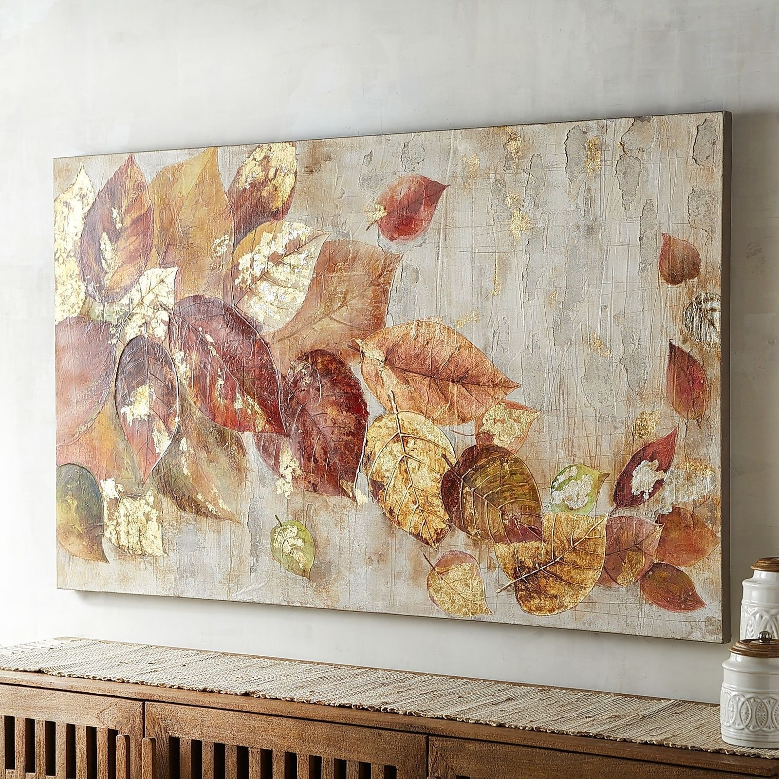 Pier 1 Wall Art Pertaining To Preferred Let Our Lovely Leaves Add Naturally Sophisticated Style To Your Home (View 15 of 20)