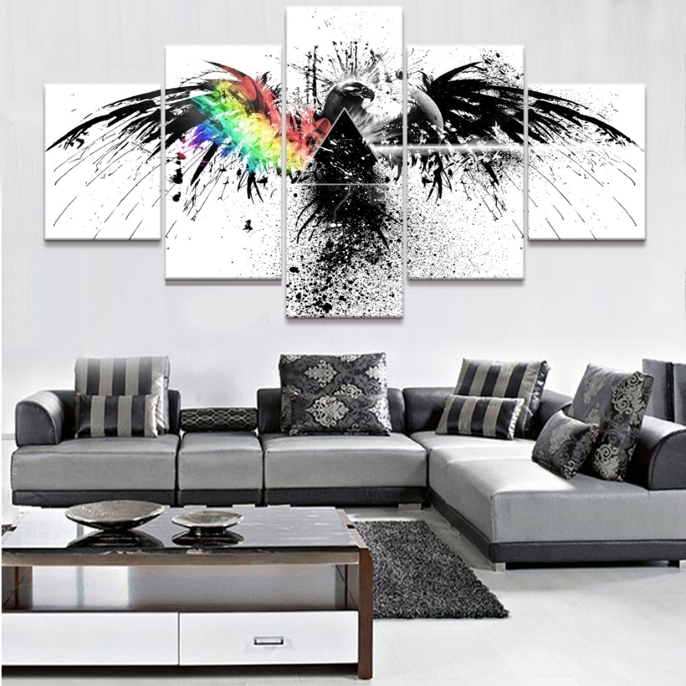 Pink Floyd The Wall Art Within Popular Trendy Inspiration Pink Floyd Wall Art Small Home Decoration Ideas (Gallery 19 of 20)