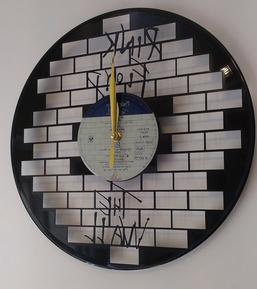 Pink Floyd Wall Art Vinyl Record Clock – Home Decor (View 17 of 20)
