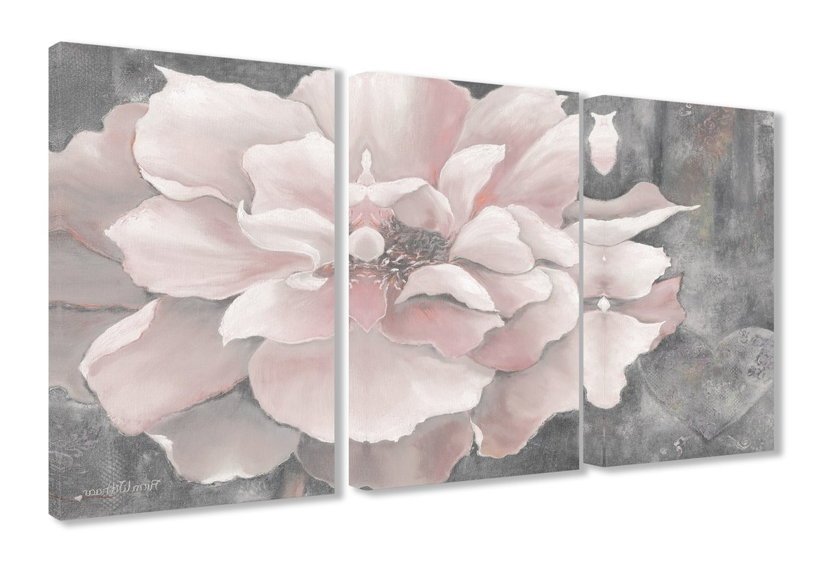 Pink Wall Art In Best And Newest Pink Wall Art You'll Love (Gallery 13 of 20)