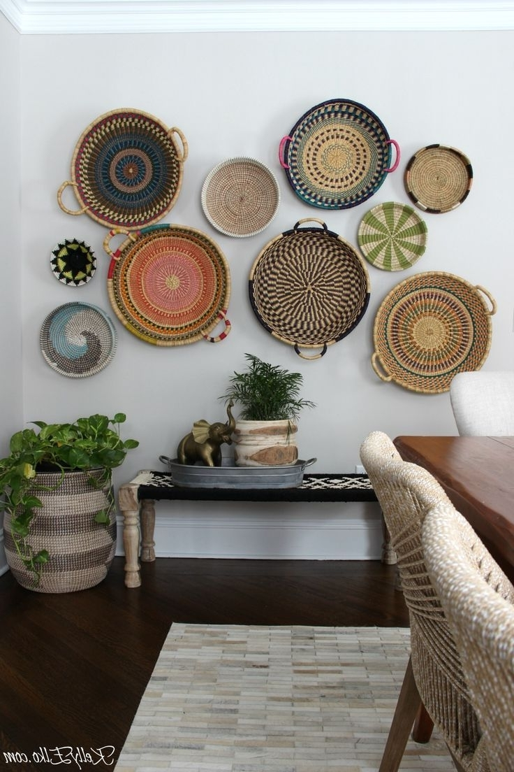 Pinterest For Newest Woven Basket Wall Art (Gallery 6 of 20)