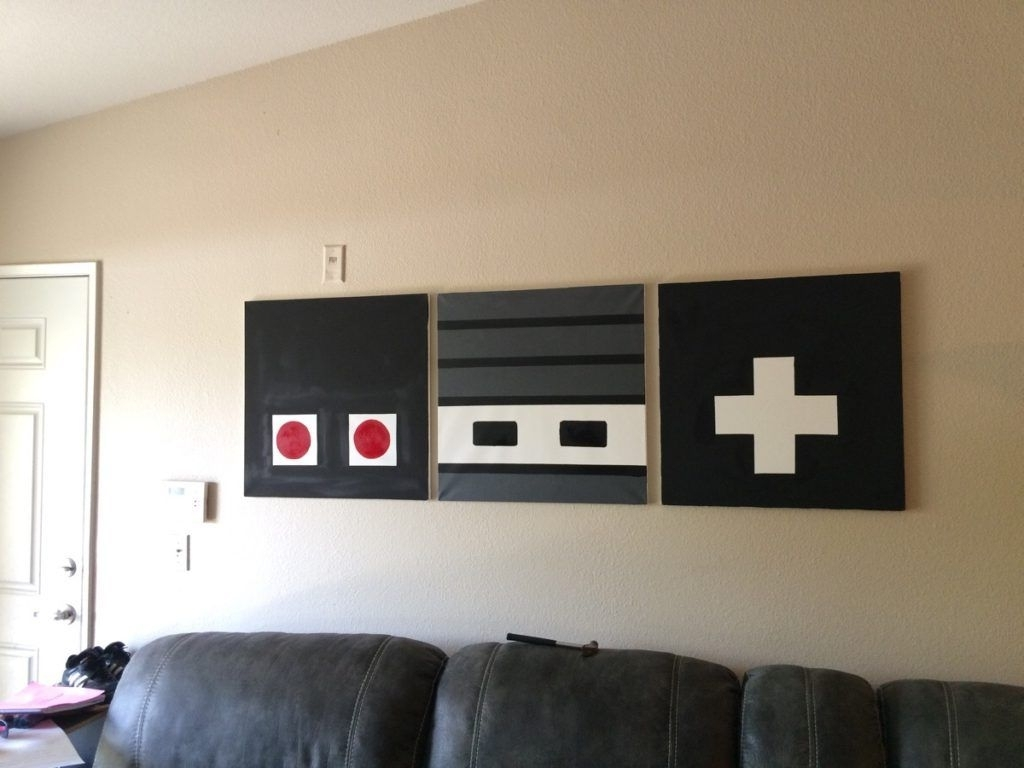 Pinterest Intended For Nintendo Wall Art (View 15 of 20)