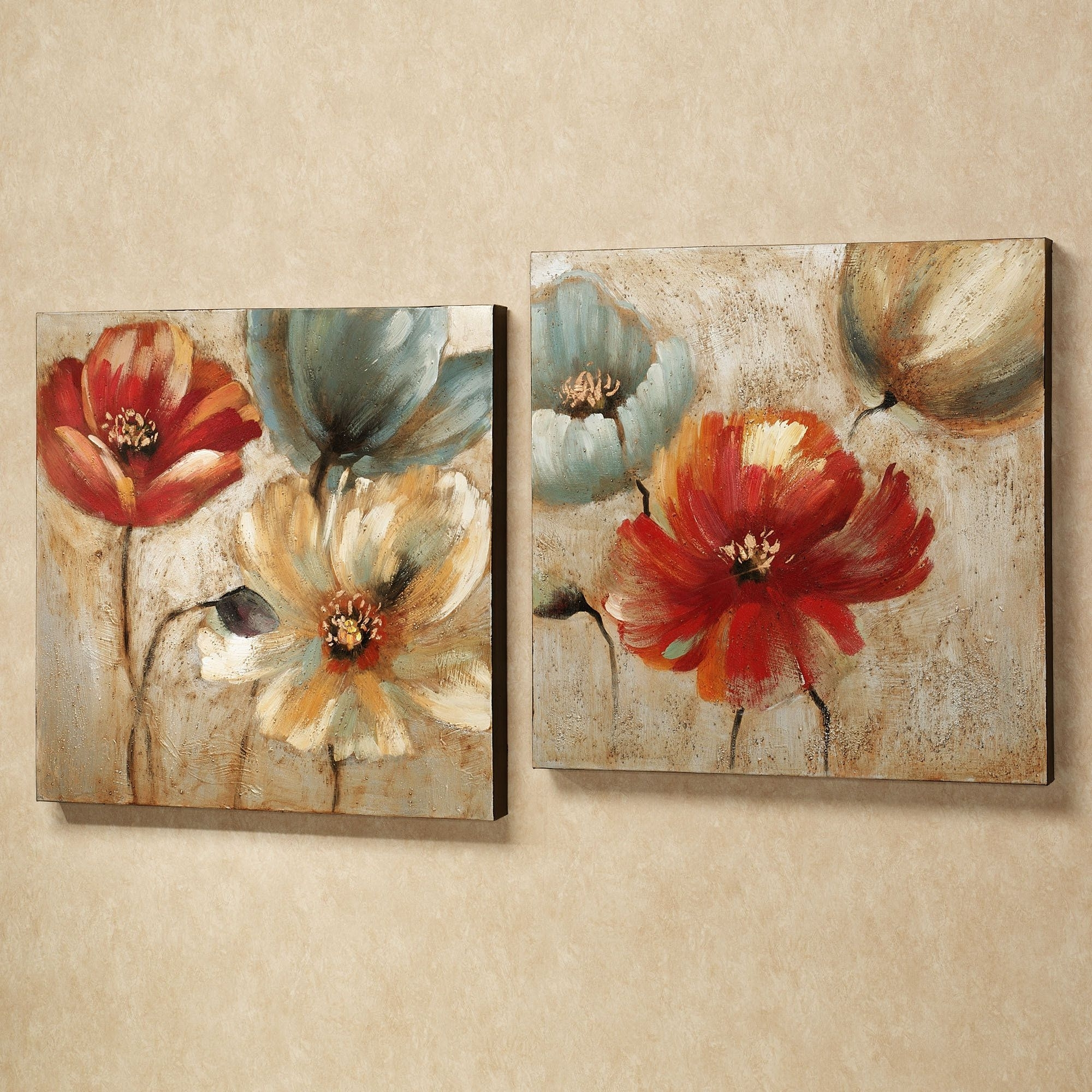 Poppy – Wall Art Within Favorite Canvas Wall Art Sets (Gallery 9 of 15)
