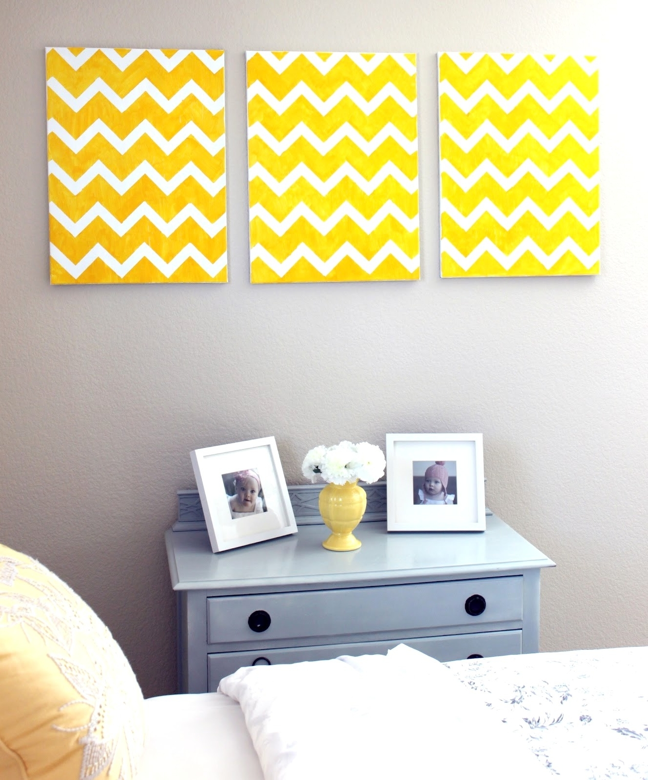 Popular Chevron Wall Art Pertaining To 13 Diy Chevron Wall Art – Thebusinessuk (View 12 of 20)