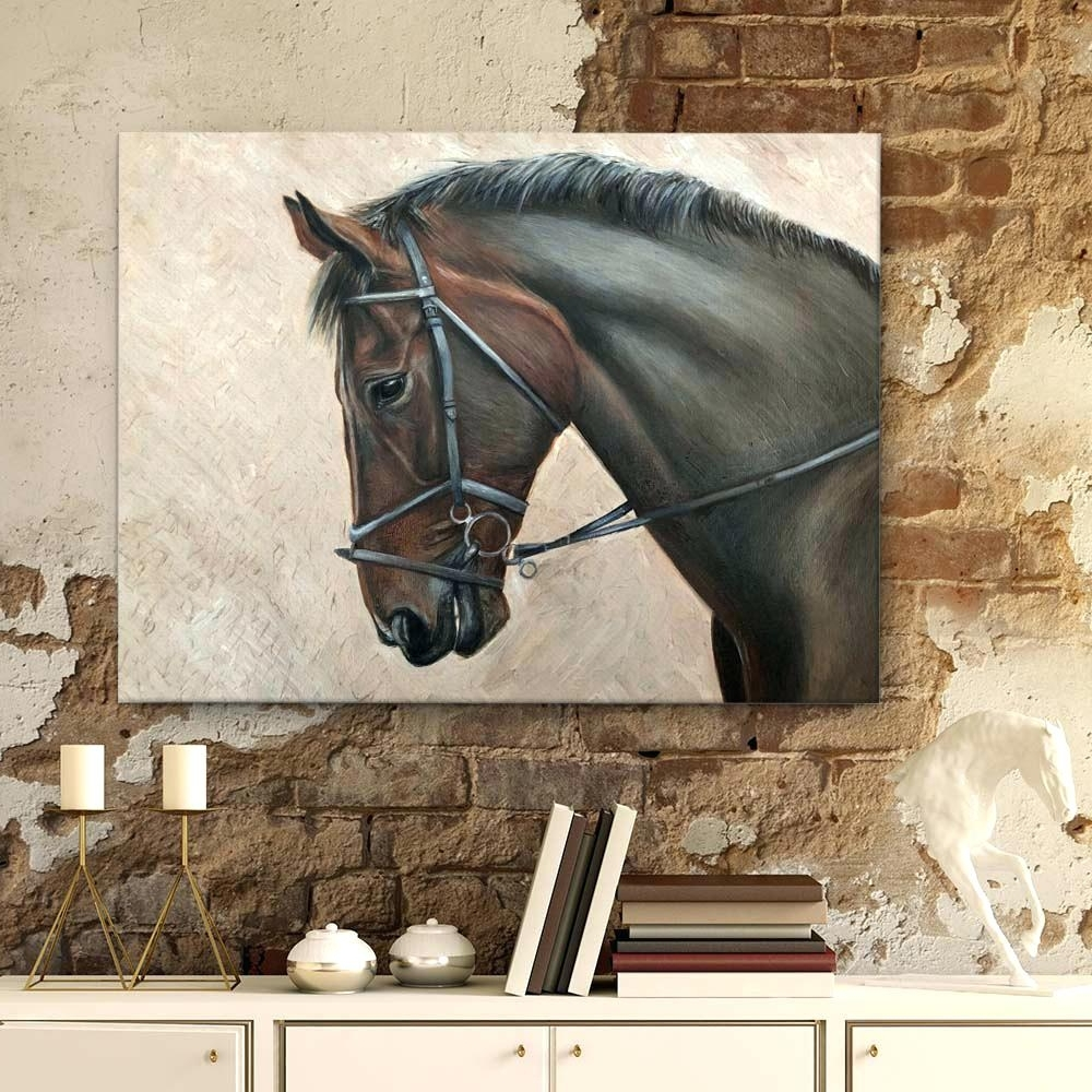 Popular Horses Wall Art With Wall Art Horses Wall Art Designs Horse Wall Art Horses Wall Art (View 16 of 20)