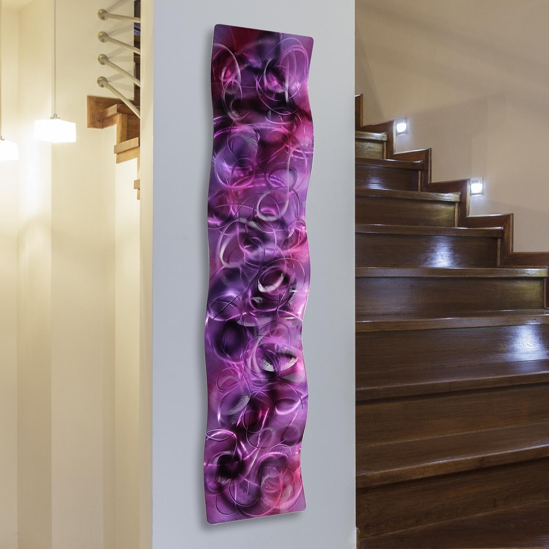 Popular Lofty Idea Vertical Metal Wall Art Simple Design Decor Giggle Laugh For Vertical Metal Wall Art (View 13 of 20)