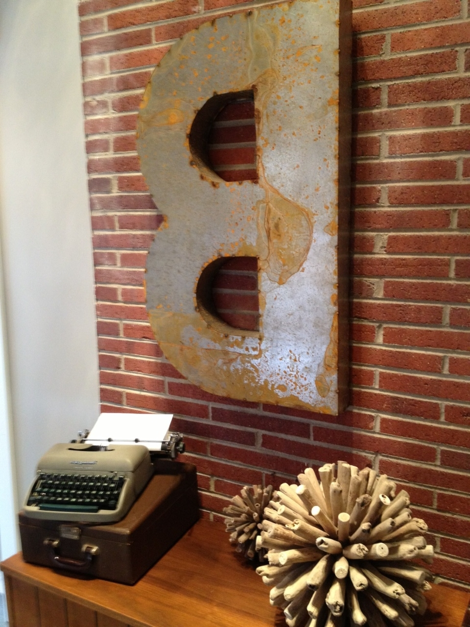 Popular Metal Letter Wall Art With Wall Art « Pineapple Juice! (View 15 of 20)