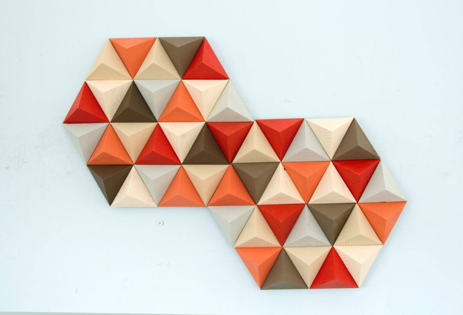 Popular Wood Wall Art Geometric, Hexagon, Mid Century Wall Art, Sale Unique With Regard To Geometric Wall Art (View 14 of 20)