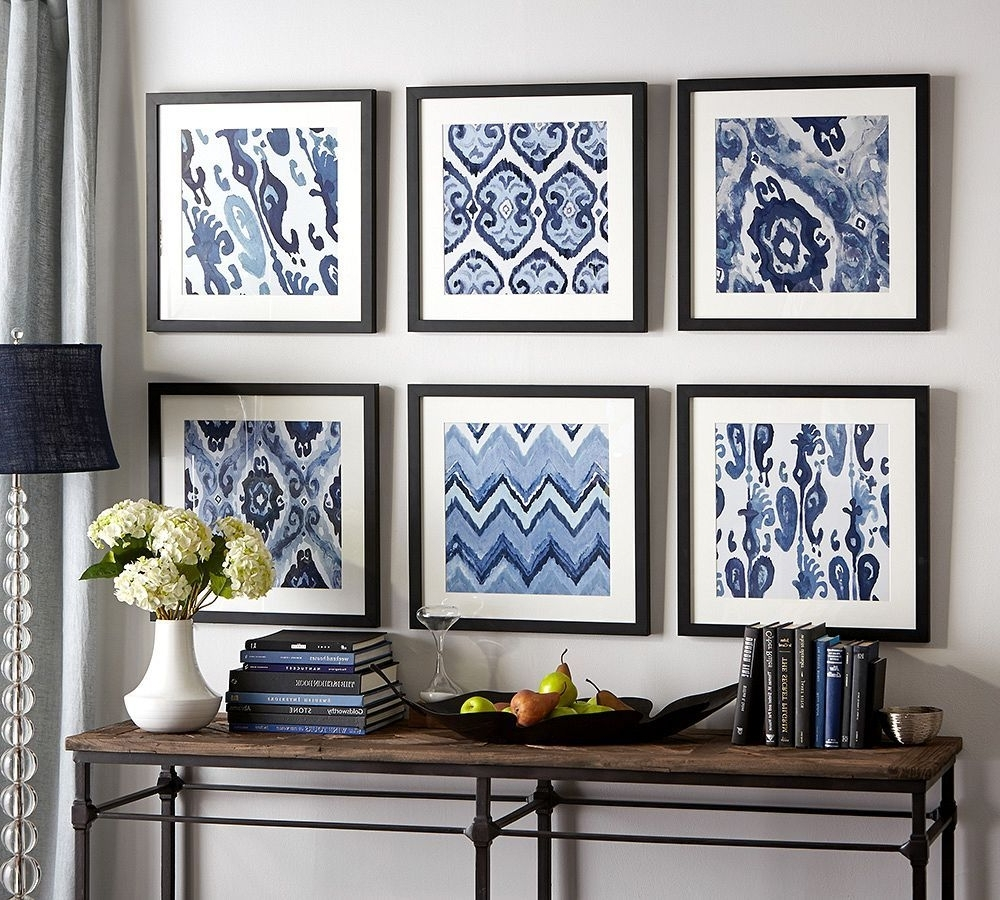Pottery Barn Wall Art Within Most Up To Date 12 Inspirational Diy Picture Frame Ideas, Making Yours Like Never (Gallery 4 of 15)