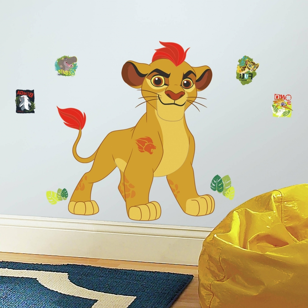 Preferred Accessories: Lion King Wall Art Superb Roommates Lion Guard Kion Intended For Lion King Wall Art (View 16 of 20)