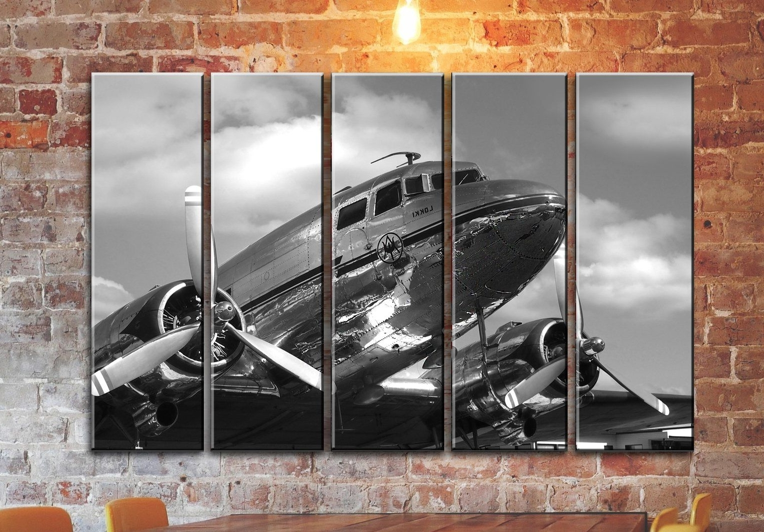 Preferred Aviation Wall Art In Big Set Airplane Canvas Wall Art / Aircraft Canvas Wall Art (View 13 of 20)