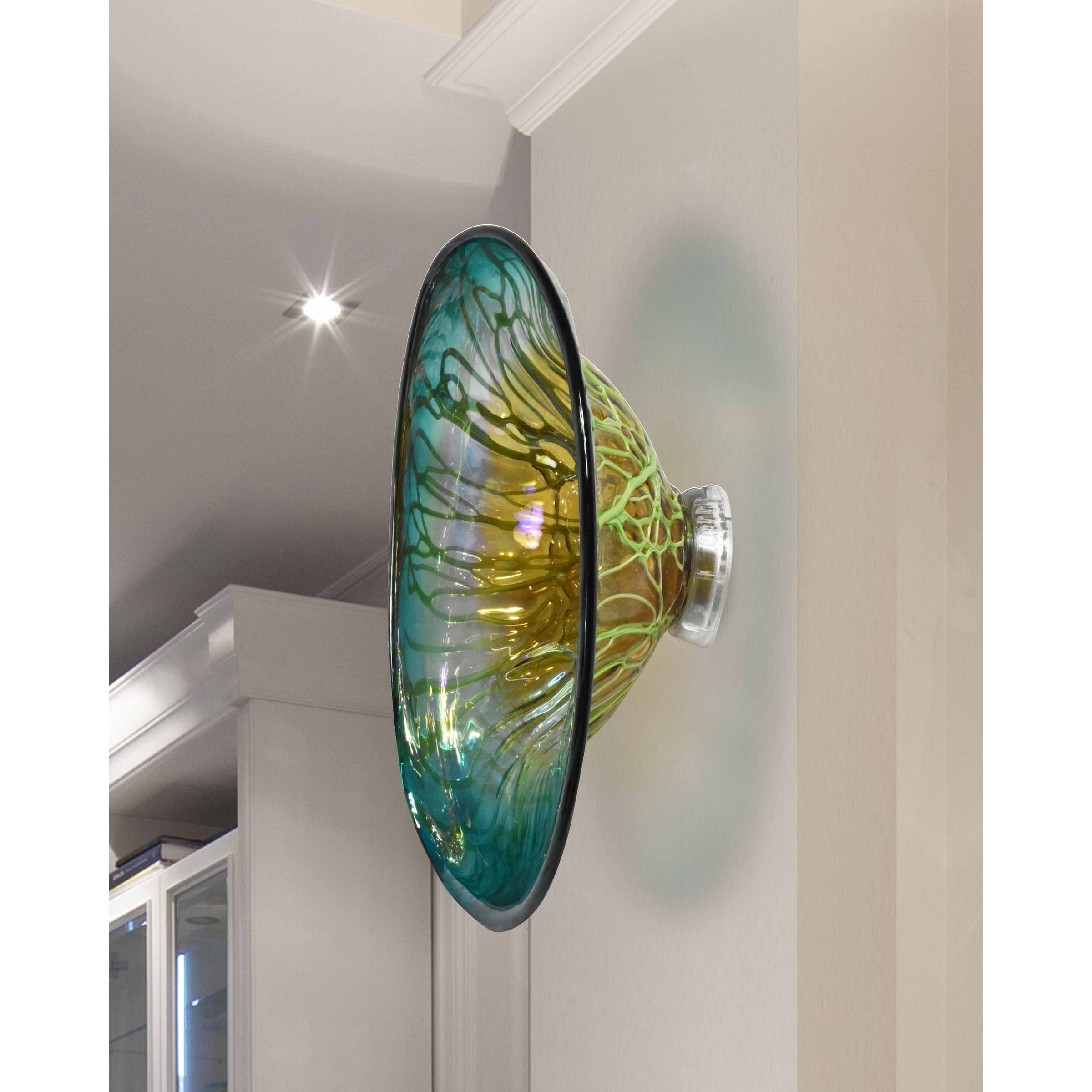 "Preferred Blown Glass Wall Art Intended For Shop Springdale 7.5""h Artleta Hand Blown Art Glass Wall Decor – Free (Gallery 20 of 20)"