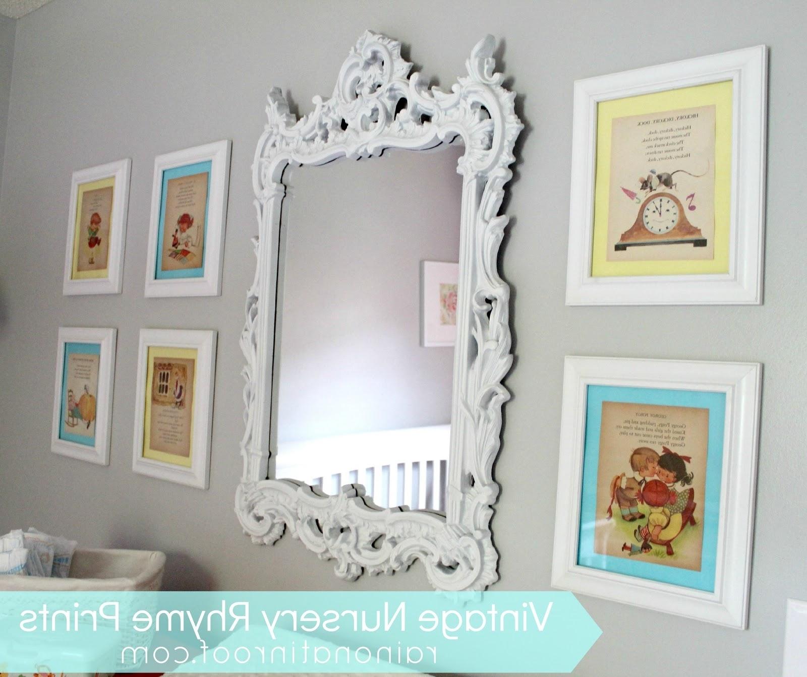 Preferred Diy Vintage Nursery Rhyme Prints In Cheap Framed Wall Art (View 15 of 20)