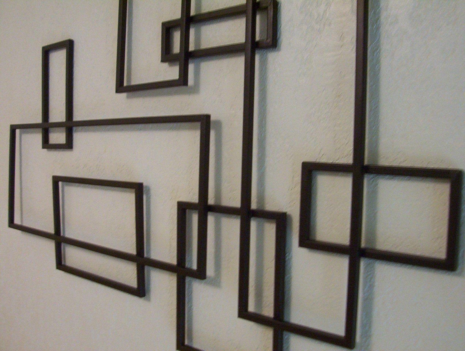 Preferred Geometric Metal Wall Art Inside Mid Century Wood Wall Art Mid Century Modern ~ De Stijl Style (Gallery 13 of 20)