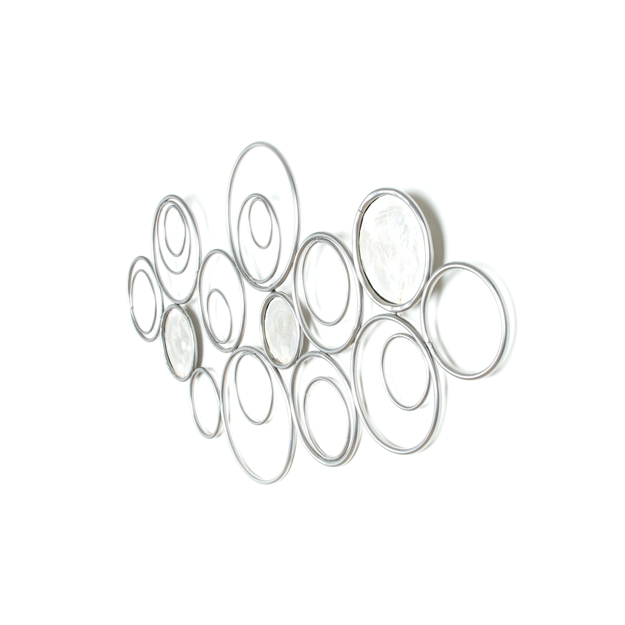 Preferred Metal Scroll Wall Art With Regard To White Metal Wall Art Eternal Swirl Metal Wall Art White Metal Scroll (View 13 of 20)