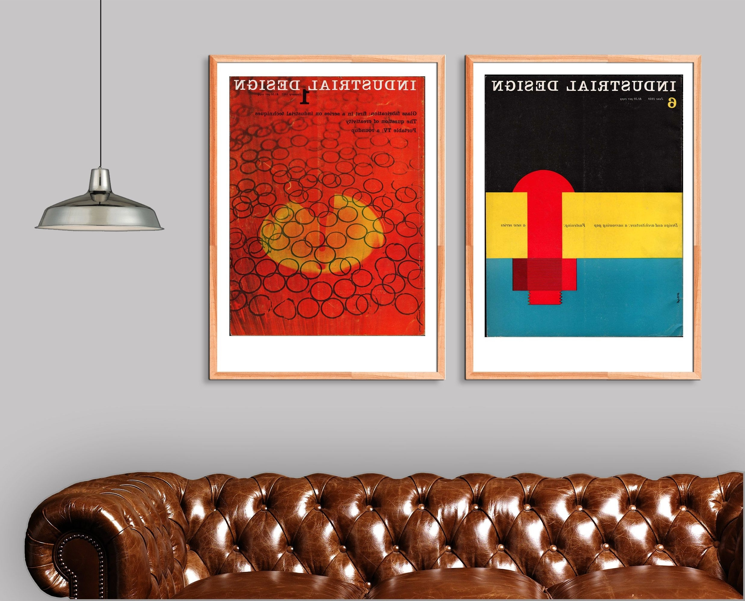 Preferred Totally Under Appreciated Diptych: Industrial Design Mid Century In Mid Century Wall Art (View 11 of 20)