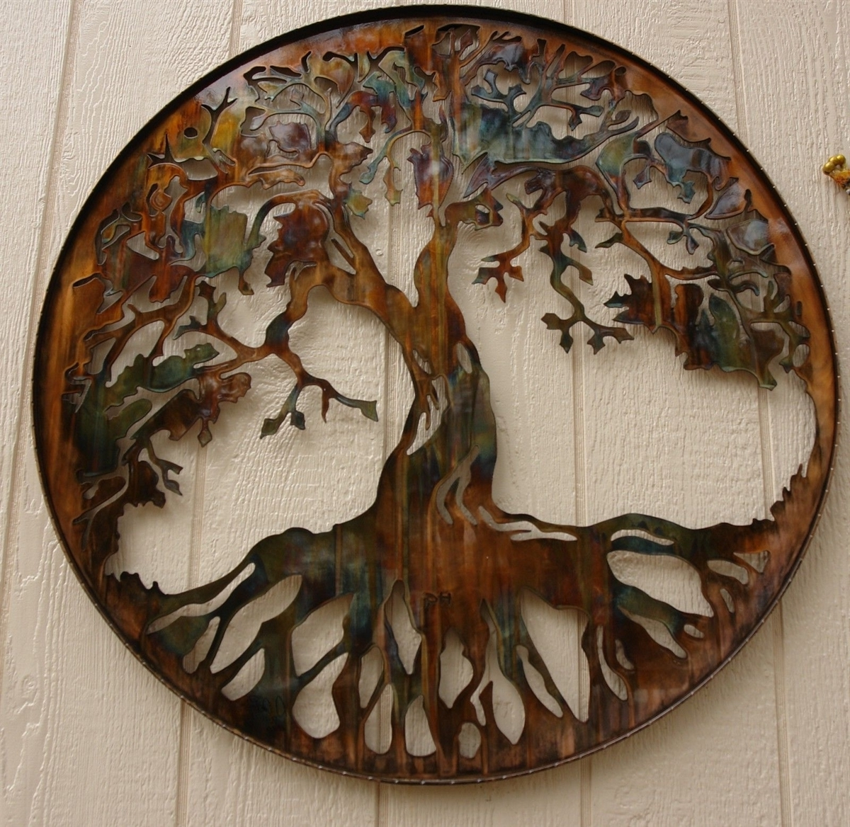 "Preferred Tree Of Life Metal Wall Art With Regard To Tree Of Life 34"" (View 9 of 20)"
