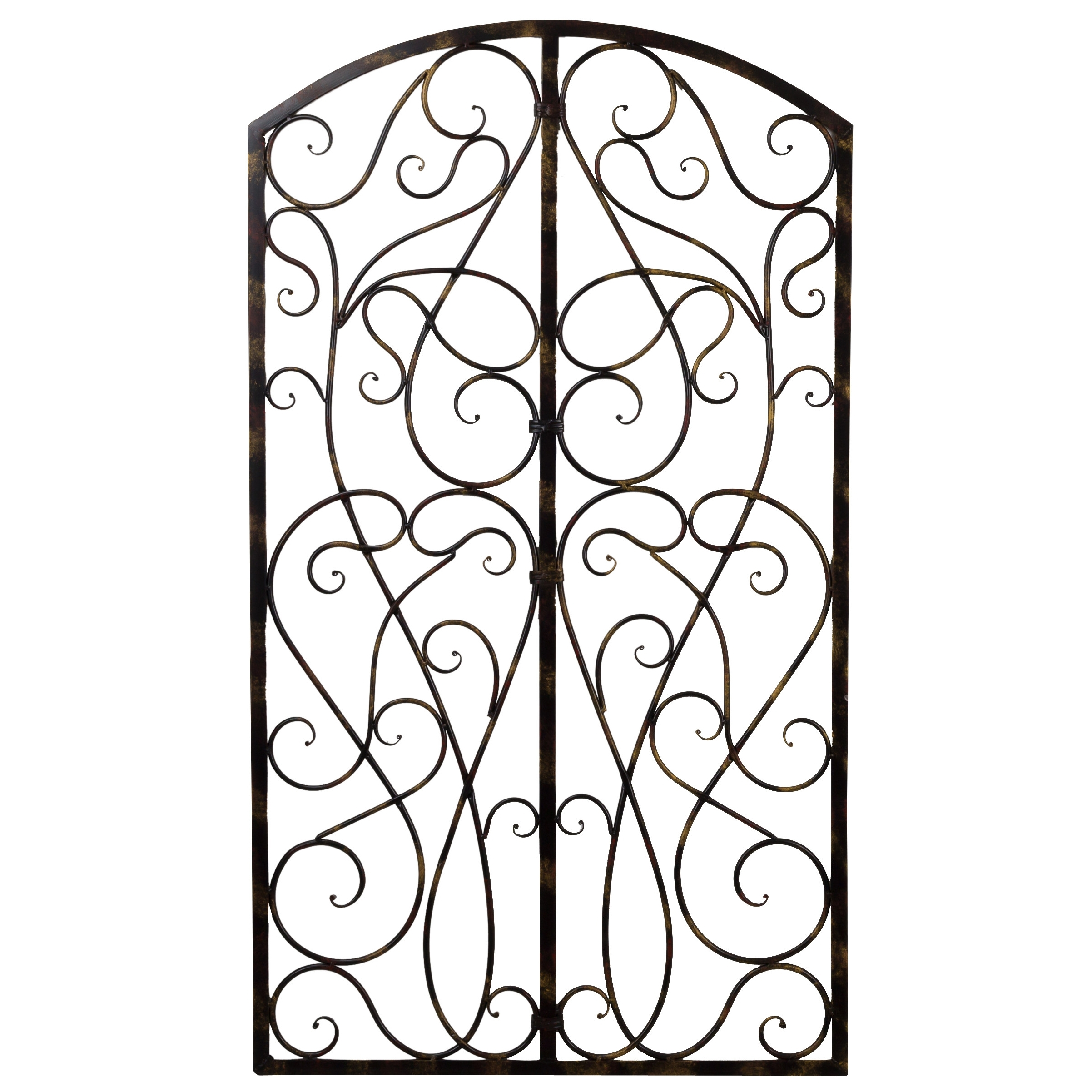 Preferred Wrought Iron Wall Art For Wrought Iron Scroll Wall Art – Elitflat (View 6 of 15)