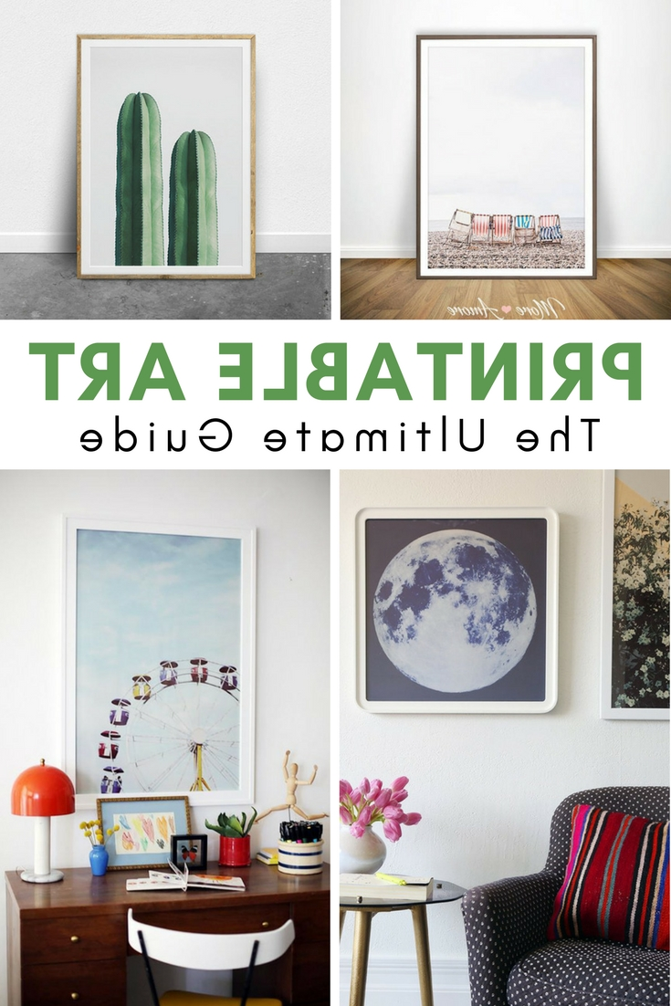 Printable Art, Walls And (Gallery 7 of 20)