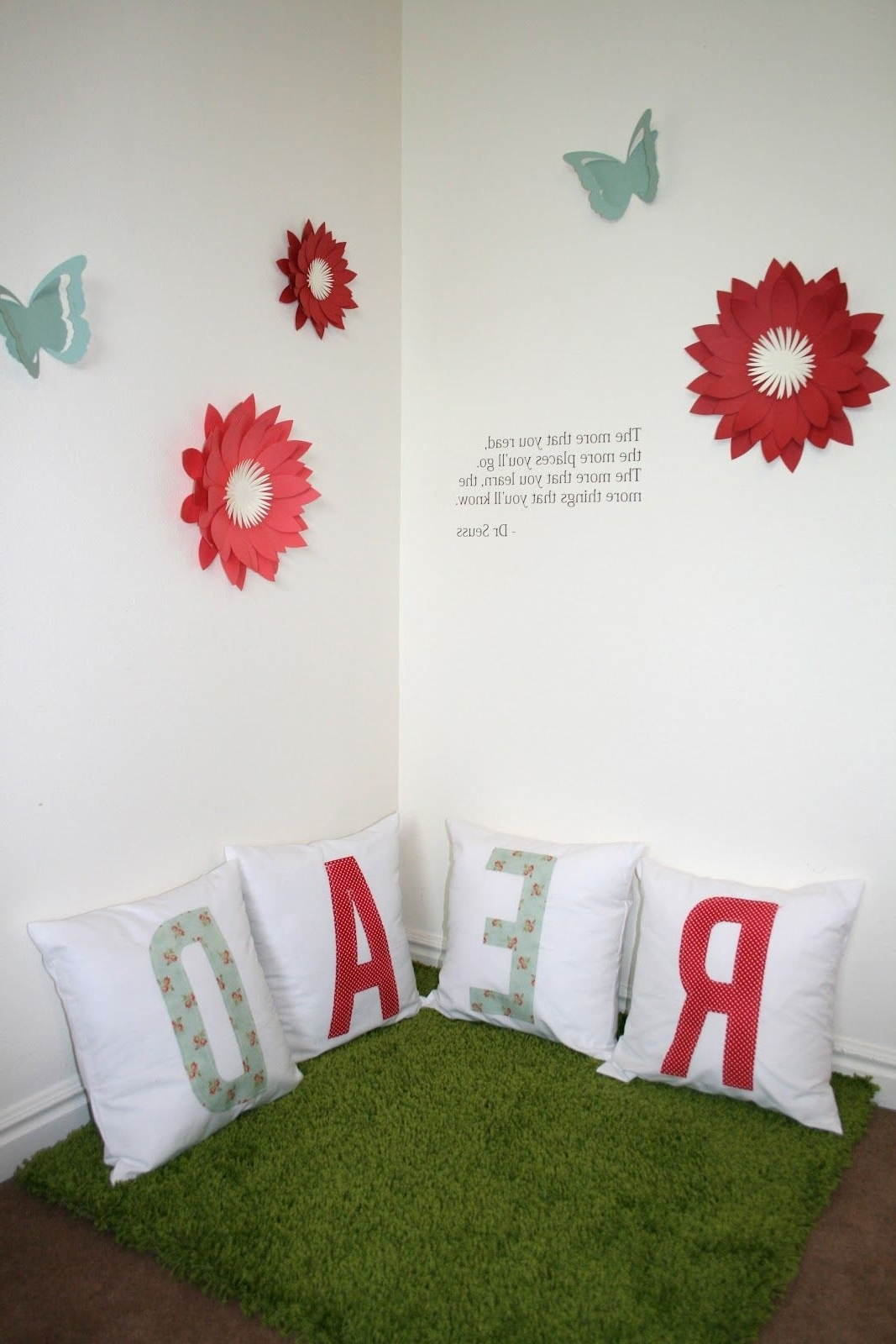 Reading Corner Series – Dimensional Wall Art – Cute For Schools Throughout Latest Corner Wall Art (View 16 of 20)