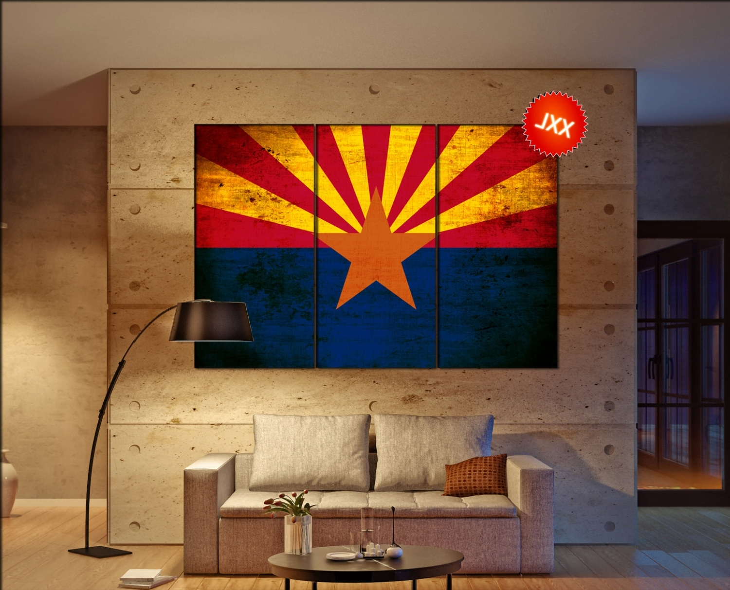 Recent 41 Arizona Wall Art, Best Phoenix Wall Art Products On Wanelo For Arizona Wall Art (Gallery 10 of 20)