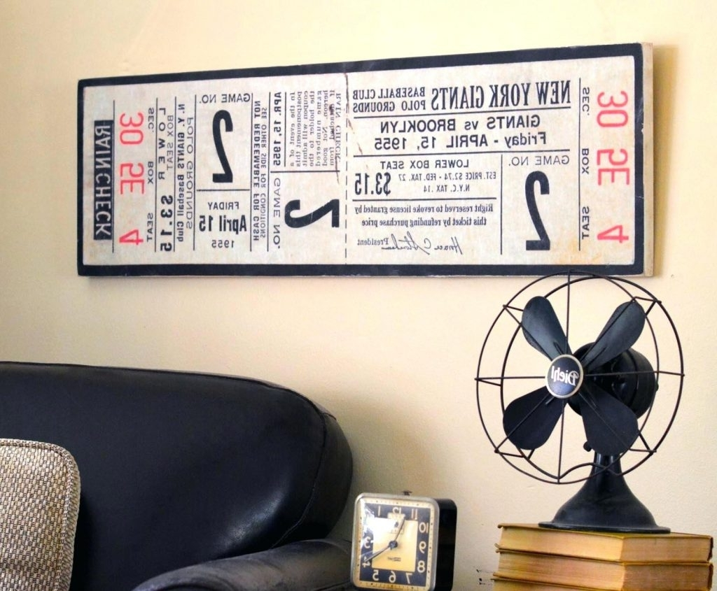 Recent Baseball Wall Art With Regard To Sofa Ideas (View 5 of 20)