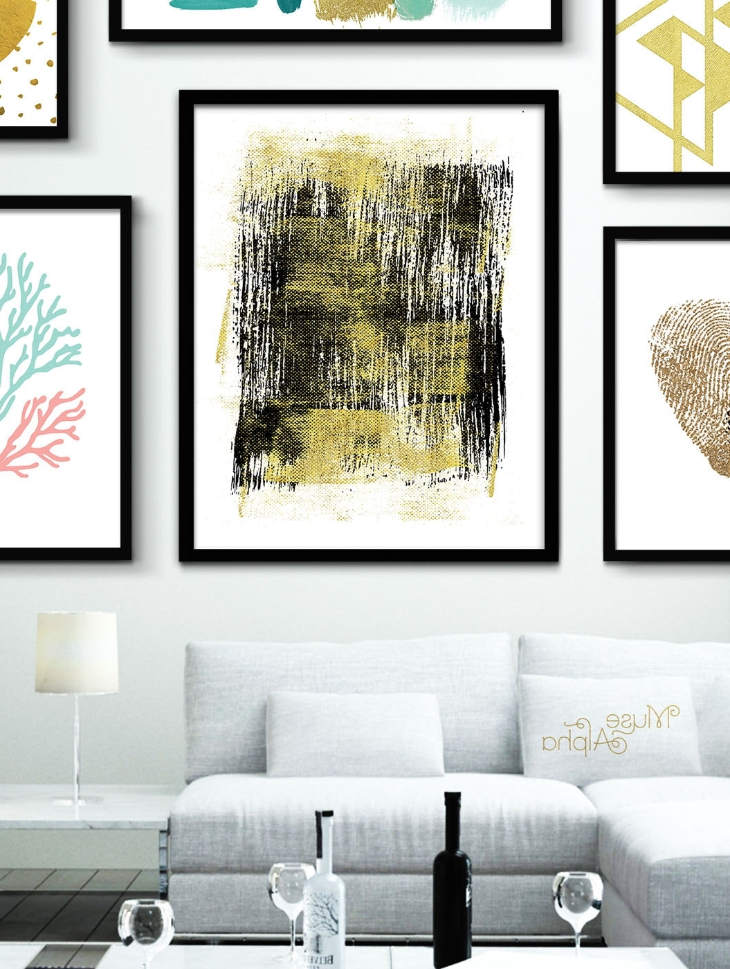 Recent Black And Gold Wall Art Inside Gold Wall Decor Black And Gold Print Gold Printable Gold, Gold Wall (Gallery 19 of 20)