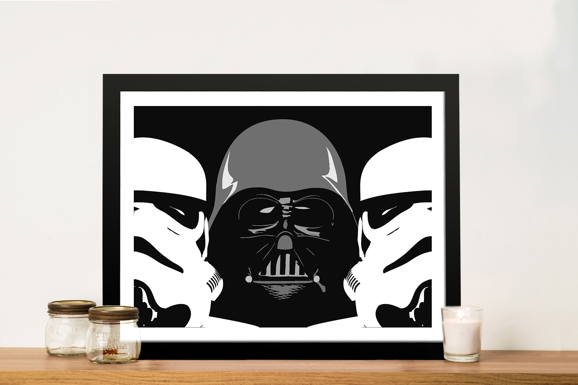 Recent Darth Vader Wall Art Pertaining To Three Amigos Darth Vader Wall Art – Canvas Prints Australia (View 14 of 20)