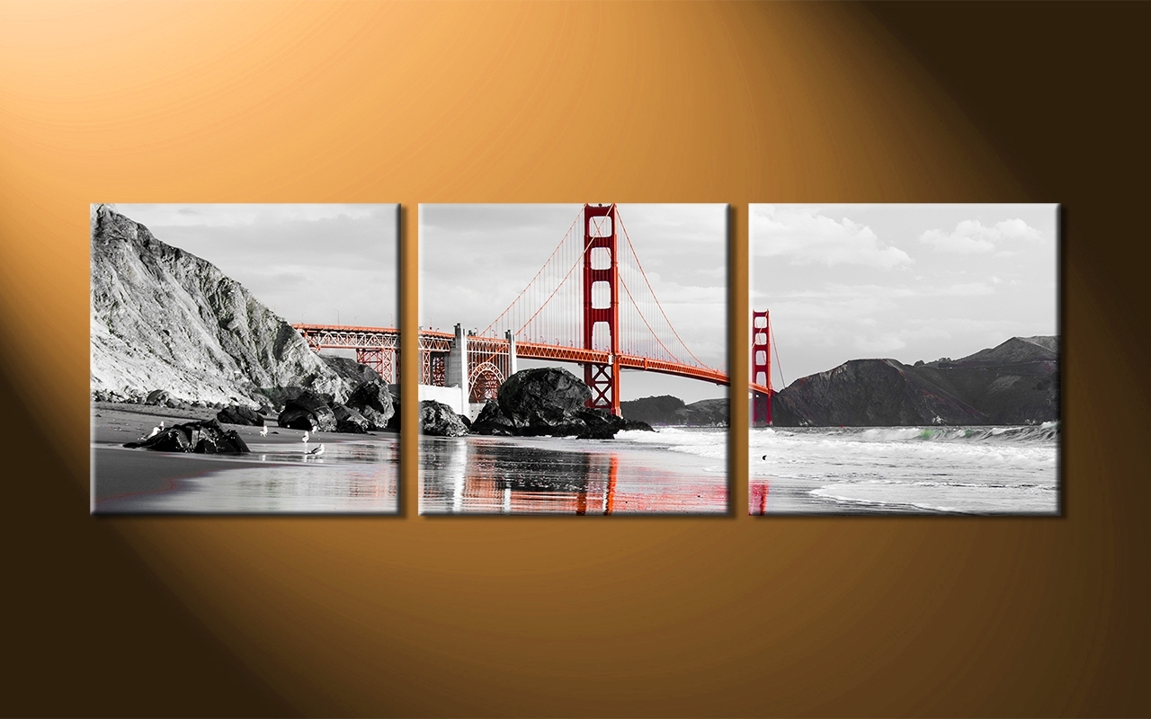Recent Fascinating Three Piece Wall Art 23 Product Image 352704886 2048X Intended For Multi Piece Wall Art (View 18 of 20)