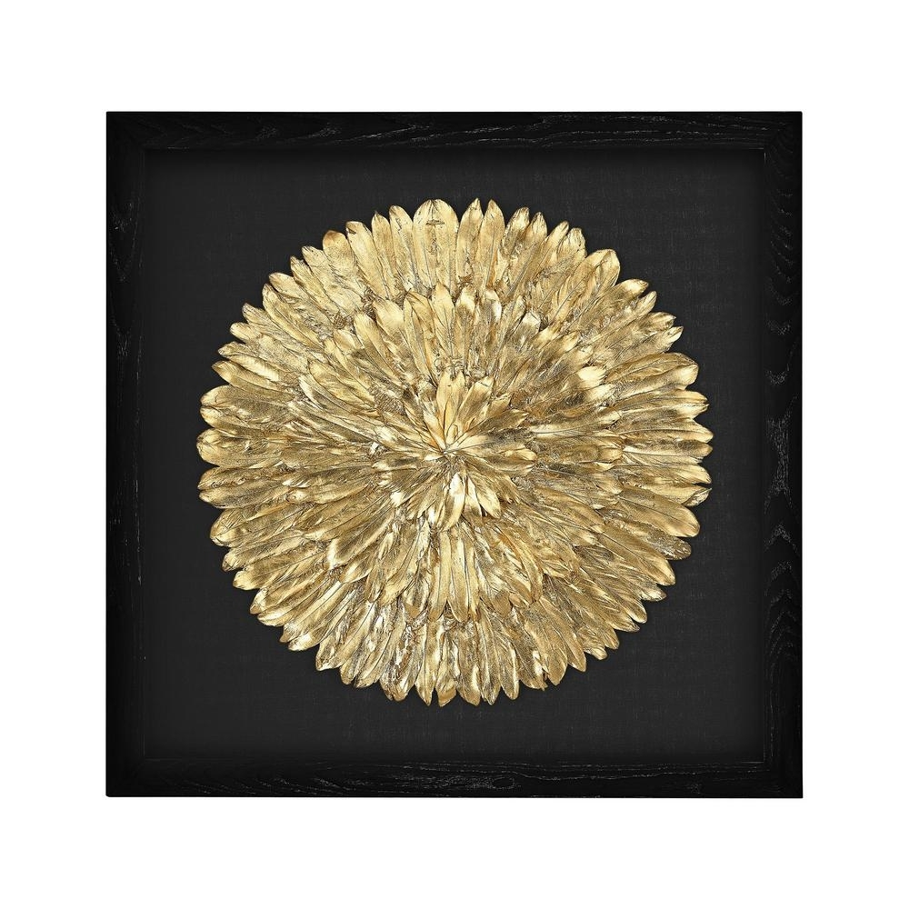 Recent Feather Wall Art Within Titan Lighting 35 In. X 35 In (View 17 of 20)