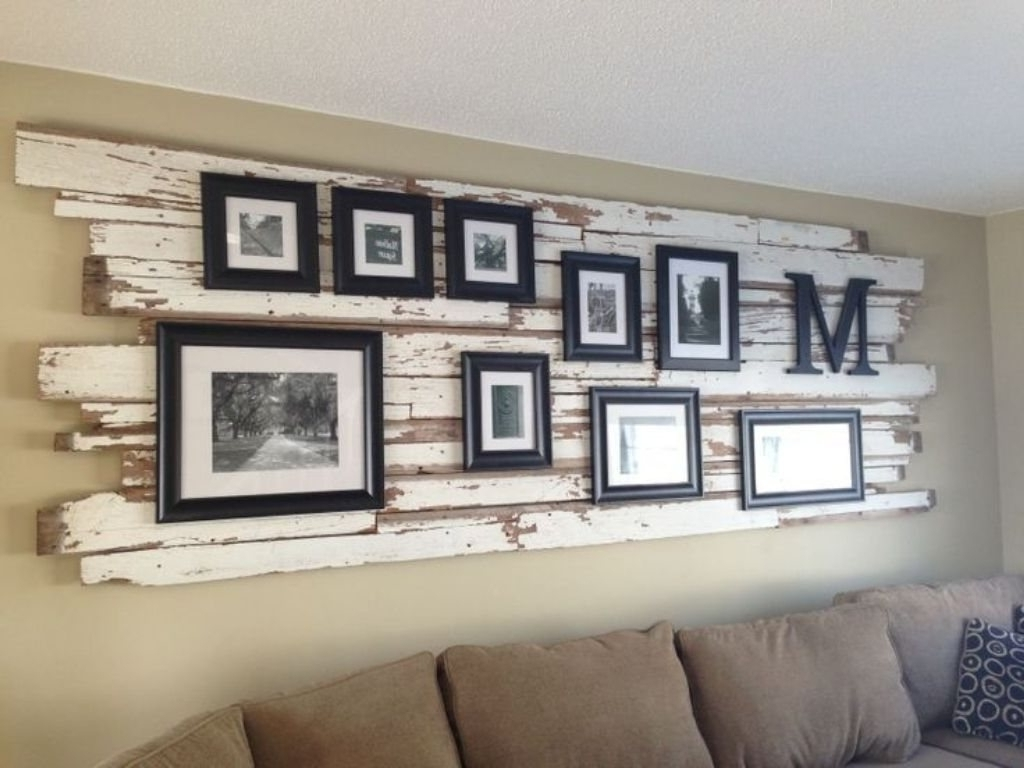 Recent Rustic Wall Art For Living Room – Home Ideas 2018 With Large Rustic Wall Art (Gallery 1 of 20)