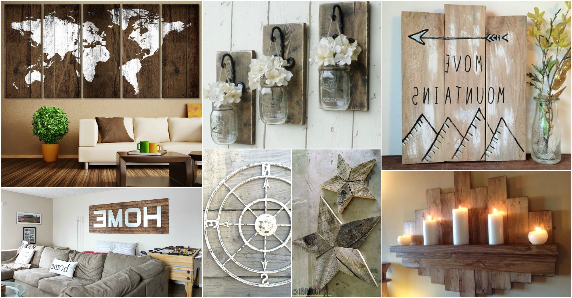 Recent Rustic Wall Art With Regard To Rustic Wall Art Ideas To Spice Up The Atmosphere (View 6 of 15)