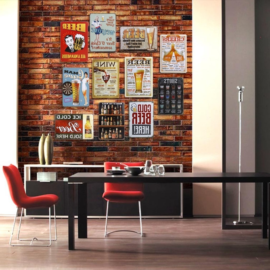 Recent Tin Wall Art Pertaining To Imported 20X30Cm Vintage Metal Tin Sign Plaque Wall Art Poster Cafe (Gallery 18 of 20)