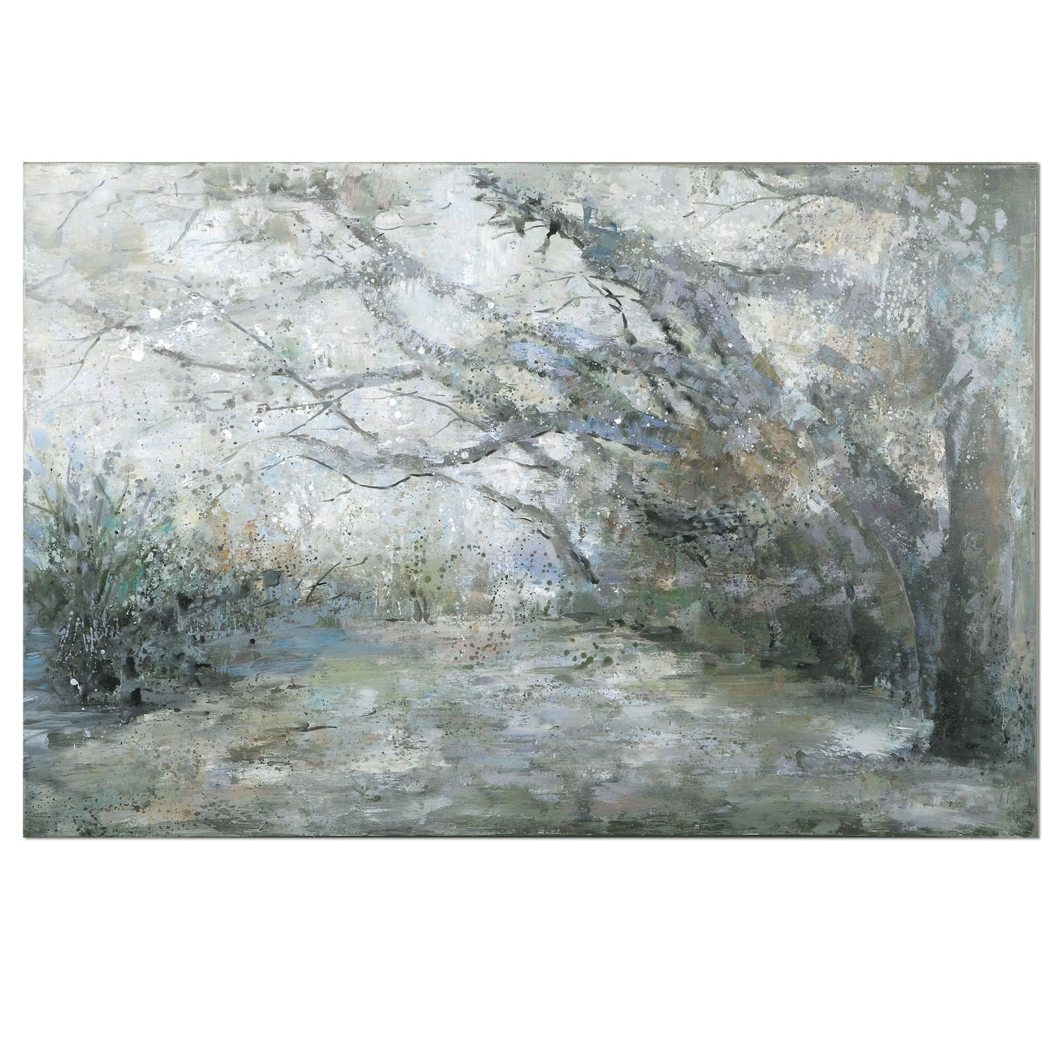 Recent Uttermost Wall Art In Uttermost Forest Lanematthew Williams: 60 X 40 Inch Canvas Wall (Gallery 20 of 20)